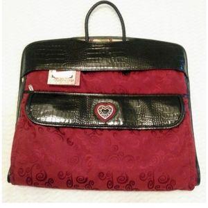 BRIGHTON Tri-Fold Hanging Travel Garment Bag